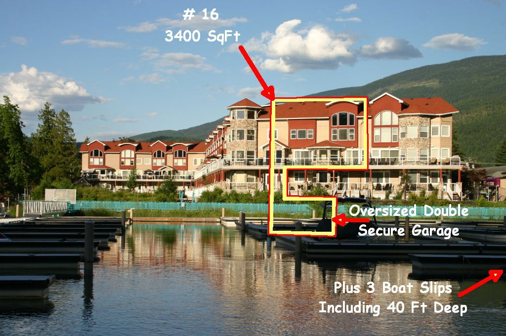 Main Photo: 16 1130 Riverside AVE in Sicamous: Waterfront House for sale : MLS®# 10039741