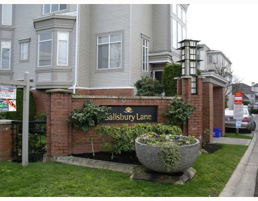 "Main Photo: 34 6111 NO 1 Road in Richmond: Terra Nova Townhouse for sale in ""SALISBURY LANE"" : MLS®# V699473"