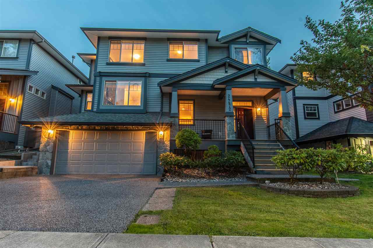 "Main Photo: 24472 MCCLURE Drive in Maple Ridge: Albion House for sale in ""MAPLE CREST"" : MLS®# R2388582"