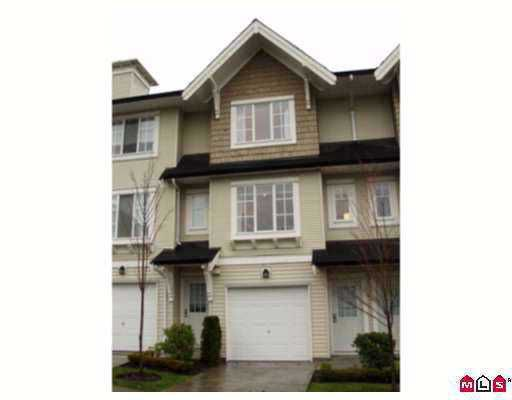 "Main Photo: 14 20560 66TH Ave in Langley: Willoughby Heights Townhouse for sale in ""Amberleigh"" : MLS®# F2708874"