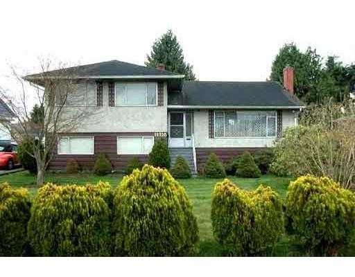 """Main Photo: 12320 BARNES Drive in Richmond: East Cambie House for sale in """"EAST CAMBIE"""" : MLS®# V682817"""