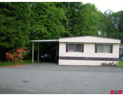 """Main Photo: 1 6280 KING GEORGE Highway in Surrey: Sullivan Station Manufactured Home for sale in """"White Oaks"""" : MLS®# F2816251"""