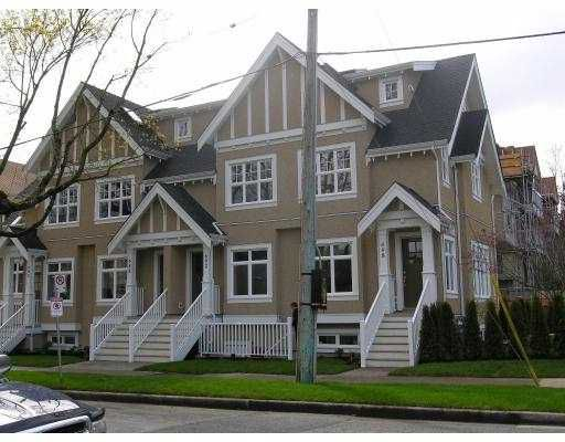 """Main Photo: 698 W 13TH AV in Vancouver: Fairview VW Townhouse for sale in """"HEATHER CROSSING"""" (Vancouver West)  : MLS®# V581844"""