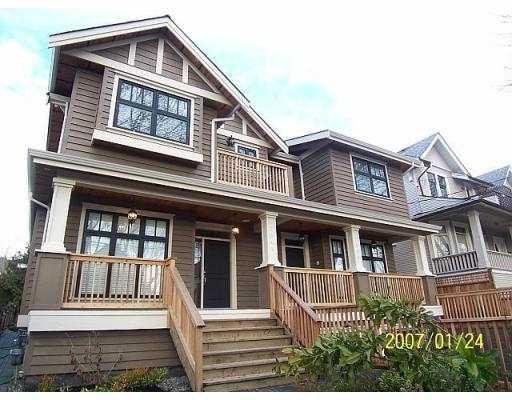 "Main Photo: 2345 W 8TH Avenue in Vancouver: Kitsilano House 1/2 Duplex for sale in ""KITSILANO"" (Vancouver West)  : MLS®# V630098"