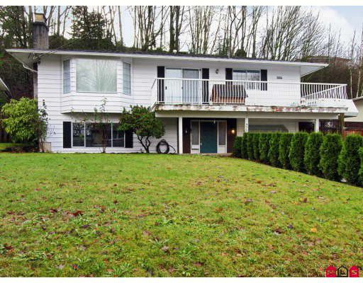 Main Photo: 35062 HIGH Drive in Abbotsford: Abbotsford East House for sale : MLS®# F2729944