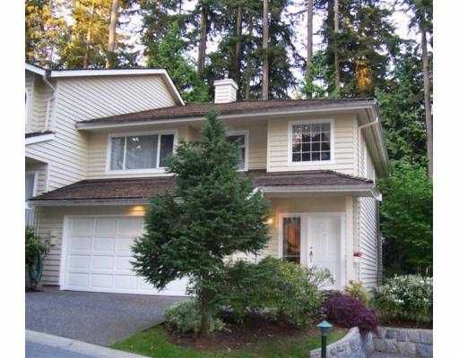 """Main Photo: 16 DEERWOOD PL in Port Moody: Heritage Mountain Townhouse for sale in """"HERITAGE GREEN"""" : MLS®# V592283"""