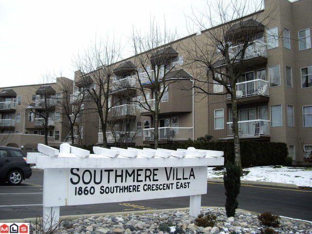 "Main Photo: # 309 1860 E SOUTHMERE CR in Surrey: Sunnyside Park Surrey Condo for sale in ""Southmere Villa"" (South Surrey White Rock)  : MLS®# F1100590"