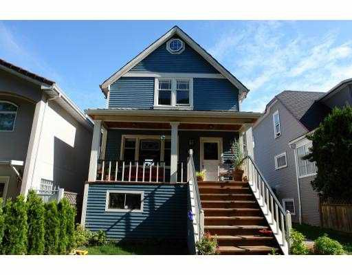 Main Photo: 649 E 10TH Avenue in Vancouver: Mount Pleasant VE House for sale (Vancouver East)  : MLS®# V652241