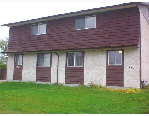 Main Photo: 794 CHALMERS Avenue East in WINNIPEG: East Kildonan Duplex for sale (North East Winnipeg)  : MLS®# 2718172