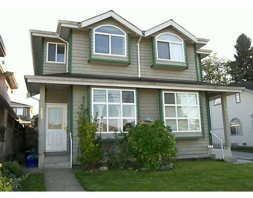Main Photo: 5408 NORFOLK Street in Burnaby: Central BN House 1/2 Duplex for sale (Burnaby North)  : MLS®# V615791