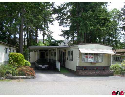 """Main Photo: 53 15820 FRASER Highway in Surrey: Fleetwood Tynehead Manufactured Home for sale in """"Greentree Estates"""" : MLS®# F2716407"""