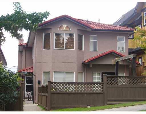 Main Photo: 1989 E 4TH Avenue in Vancouver: Grandview VE House 1/2 Duplex for sale (Vancouver East)  : MLS®# V672561
