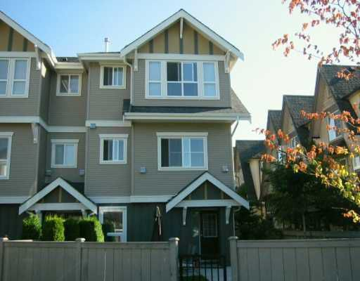 """Main Photo: 7833 HEATHER Street in Richmond: McLennan North Townhouse for sale in """"Belmont"""" : MLS®# V629931"""