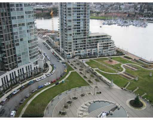 Main Photo: 2505 583 BEACH Crescent in Vancouver: False Creek North Condo for sale (Vancouver West)  : MLS®# V681132