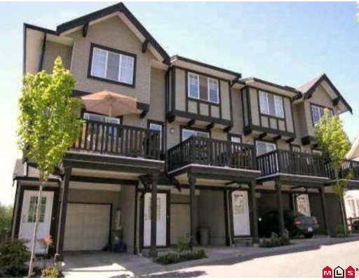"Main Photo: 80 20176 68TH Avenue in Langley: Willoughby Heights Townhouse for sale in ""Steeplechase"" : MLS®# F2806030"