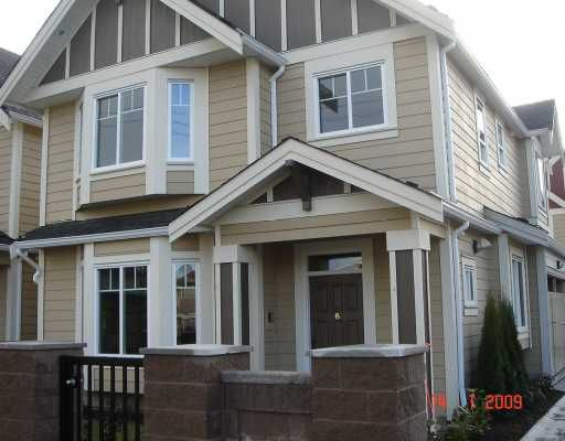 "Main Photo: 6 5280 Williams Road in Richmond: Steveston North Townhouse for sale in ""Holly Vistas"" : MLS®# V778234"