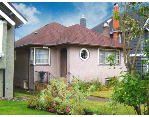 """Main Photo: 4563 W 12TH Avenue in Vancouver: Point Grey House for sale in """"POINT GREY"""" (Vancouver West)  : MLS®# V714960"""