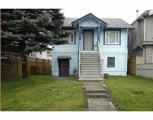 Main Photo: 1195 LILLOOET Street in Vancouver: Renfrew VE House for sale (Vancouver East)  : MLS®# V706454