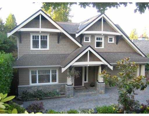 Main Photo: 2618 LAWSON AV in West Vancouver: Dundarave House for sale : MLS®# V610675