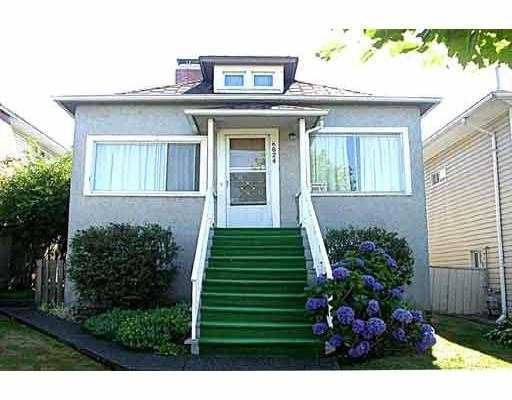 Main Photo: 6824 CULLODEN Street in Vancouver: South Vancouver House for sale (Vancouver East)  : MLS®# V632647