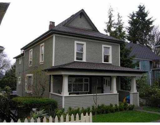 Main Photo: 761 E 13TH Ave in Vancouver: Mount Pleasant VE House Triplex for sale (Vancouver East)  : MLS®# V637933