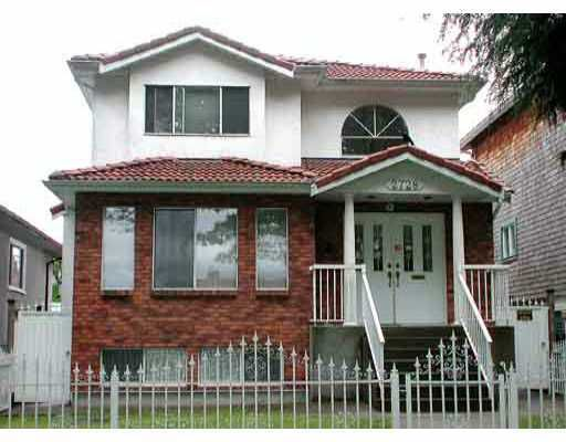 Main Photo: 2728 ETON Street in Vancouver: Hastings East House for sale (Vancouver East)  : MLS®# V662013
