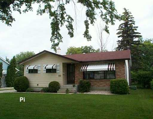 Main Photo: 161 FAIRLANE Avenue in WINNIPEG: Westwood / Crestview Single Family Detached for sale (West Winnipeg)  : MLS®# 2711320