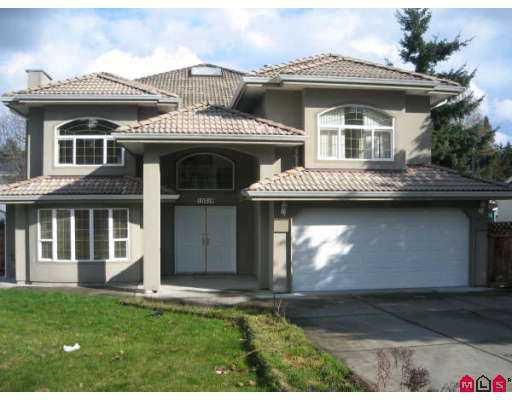 Main Photo: 10316 129TH Street in Surrey: Cedar Hills House for sale (North Surrey)  : MLS®# F2705030