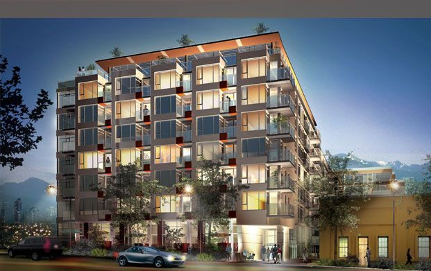 "Main Photo: 814 250 E 6th Ave in Vancouver: Condo for sale in ""District of South Main"" (Vancouver East)"