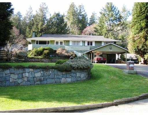 Main Photo:  in West Vancouver: Eagle Harbour House for sale : MLS®# V811054