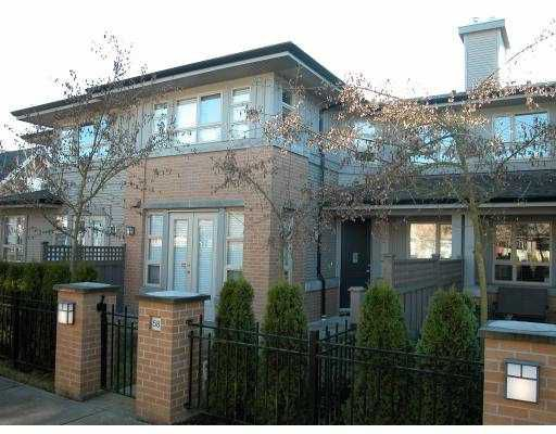 "Main Photo: 58 6300 BIRCH Street in Richmond: McLennan North Townhouse for sale in ""SPRINGBROOK ESTATES"" : MLS®# V678777"
