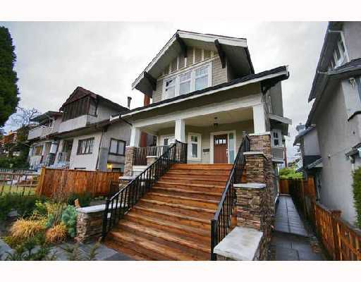 "Main Photo: 3317 W 2ND Avenue in Vancouver: Kitsilano House 1/2 Duplex for sale in ""VISTA"" (Vancouver West)  : MLS®# V680031"