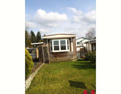 Main Photo: 1889 SHORE in Abbotsford: Central Abbotsford Manufactured Home for sale : MLS®# F2804923
