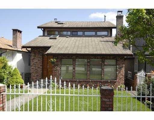 Main Photo: 4146 BALKAN Street in Vancouver: Fraser VE House for sale (Vancouver East)  : MLS®# V709923