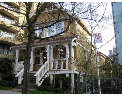"Main Photo: 1067 BARCLAY Street in Vancouver: West End VW Townhouse for sale in ""BARCLAY WALK"" (Vancouver West)  : MLS®# V637937"