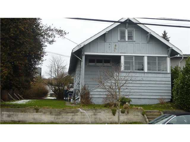 Main Photo: 1503 8TH AV in New Westminster: West End NW House for sale : MLS®# V862278
