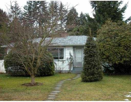 Main Photo: 1037 LAWSON Avenue in West_Vancouver: Sentinel Hill House for sale (West Vancouver)  : MLS®# V687127