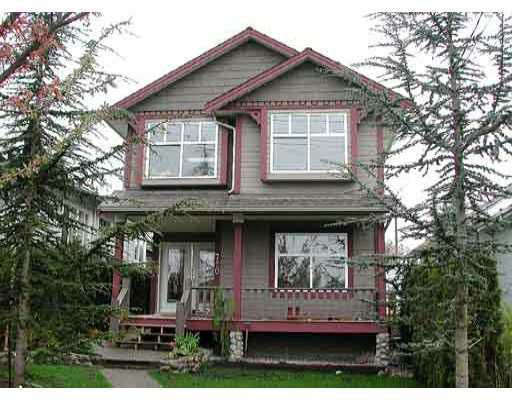 Main Photo: 720 1ST Street in New_Westminster: GlenBrooke North House for sale (New Westminster)  : MLS®# V676099