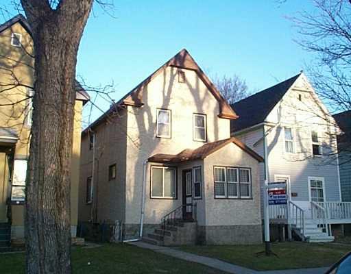 Main Photo: 348 TORONTO Street in Winnipeg: West End / Wolseley Single Family Detached for sale (West Winnipeg)  : MLS®# 2504851