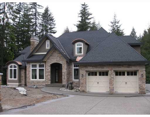 "Main Photo: 157 DOGWOOD DR: Anmore House for sale in ""DOGWWOOD ESTATES"" (Port Moody)  : MLS®# V801911"