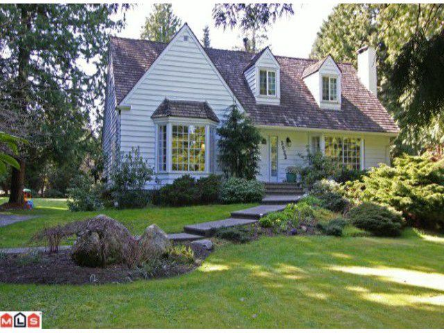 Main Photo: 3023 BALSAM CR in Surrey: Elgin Chantrell House for sale (South Surrey White Rock)  : MLS®# F1110533