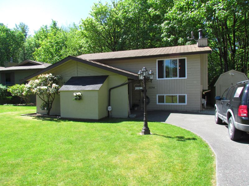 Main Photo: 35294 SELKIRK AVE in ABBOTSFORD: Abbotsford East House for rent (Abbotsford)