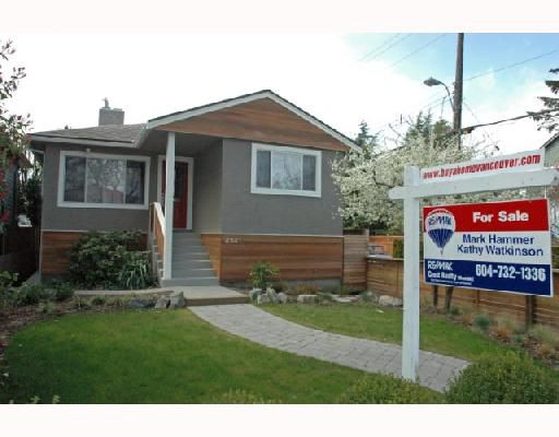 Main Photo: 4941 PRINCE ALBERT Street in Vancouver: Fraser VE House for sale (Vancouver East)  : MLS®# V702108