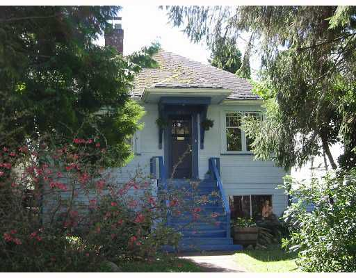 Main Photo: 3930 W 23RD Ave in Vancouver: Dunbar House for sale (Vancouver West)  : MLS®# V642147