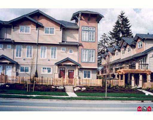 """Main Photo: 52 5839 PANORAMA Drive in Surrey: Sullivan Station Townhouse for sale in """"Forest Gate"""" : MLS®# F2710483"""