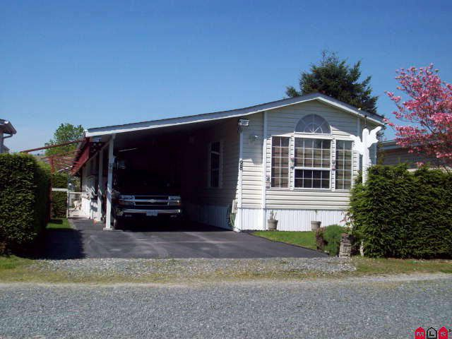 """Main Photo: # 98 6035 VEDDER RD in Sardis: Sardis East Vedder Rd House for sale in """"SELOMAS MOBILE HOME PARK"""" : MLS®# H1102252"""