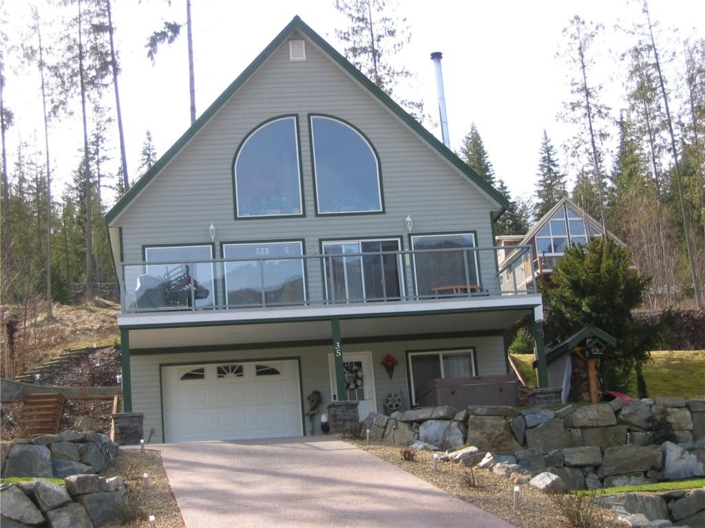 "Main Photo: Eagle Bay - Shuswap Lake 6421 Eagle Bay Road # 35: House for sale in ""Wildrose Bay Properties"""