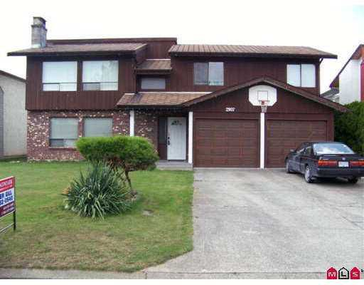 Main Photo: 2907 WILLBAND Street in Abbotsford: Central Abbotsford House for sale : MLS®# F2721937