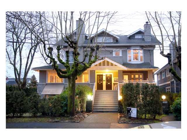 Main Photo: 1810 Collingwood in Vancouver: Kitsilano Townhouse for sale (Vancouver West)  : MLS®# V863956