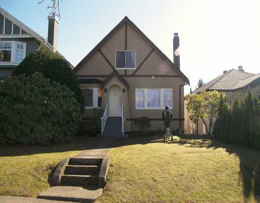 Main Photo: 3974 W 21ST Ave in Vancouver: Dunbar House for sale (Vancouver West)  : MLS®# V636566